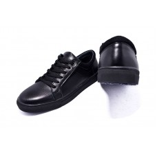 Кеды кожаные Multi-Shoes Calvin YN Black