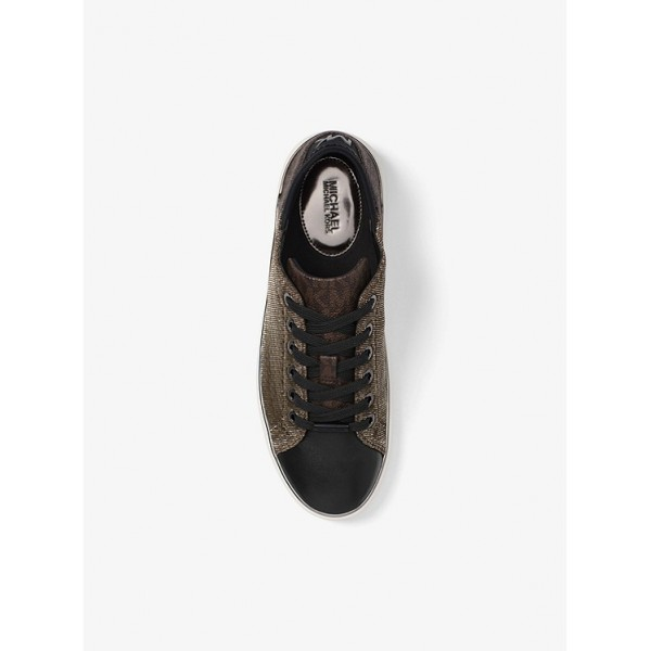 Кеды MICHAEL KORS Scout Leather and Logo Sneaker