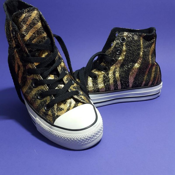 Converse Chuck Taylor All Star Hi-Top Rubber кеды женские
