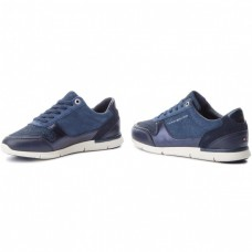 Кроссовки женские Tommy Hilfiger Sparkle Light Sneaker FW0FW03276 Navy
