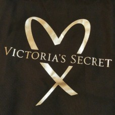 Сумка пляжная Victoria's Secret 3710 81 099 Bag Large Gold & Black Tote
