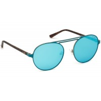 Очки солнцезащитные Guess Sunglasses GU3028 88Q Matte Turquoise Green Mirror