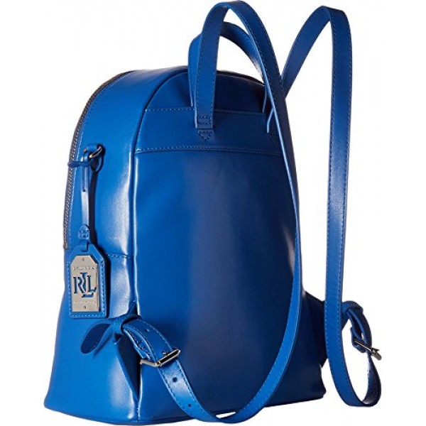 Ralph Lauren Womens Halsbury Tami Backpack Blue рюкзак кожаный женский