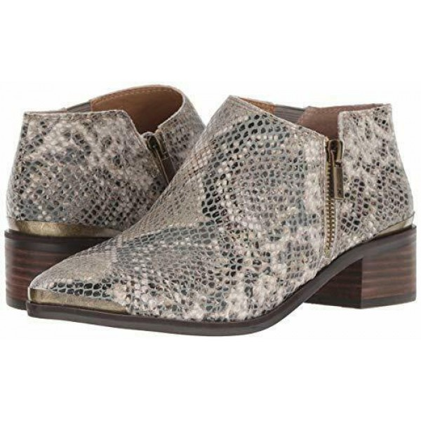 Lucky Brand Womens Koben Natural City Block HeelRiding Bootie ботинки кожаные женские