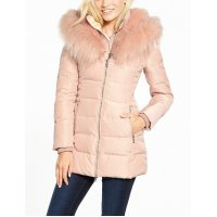Пуховик GUESS DOWN Jacket W74L78 W94K0 Pink