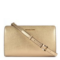 Сумка клатч Michael Kors Jet Set Travel Pale Gold LG Crossbody Clutch
