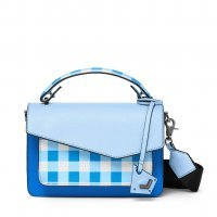 Сумка кроссбоди Botkier Cobble Hill Crossbody Bag Blue Gingham