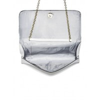 Сумка кроссбоди GUESS Kendalle Travel Clutch White Bow