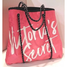 Сумка пляжная Victoria's Secret PINK TOTE SHOPPING ROPE HANDLE WEEKENDER GYM BEACH BAG