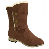 Сапоги BEARPAW Trisha Sheepskin Snow Boots Brown