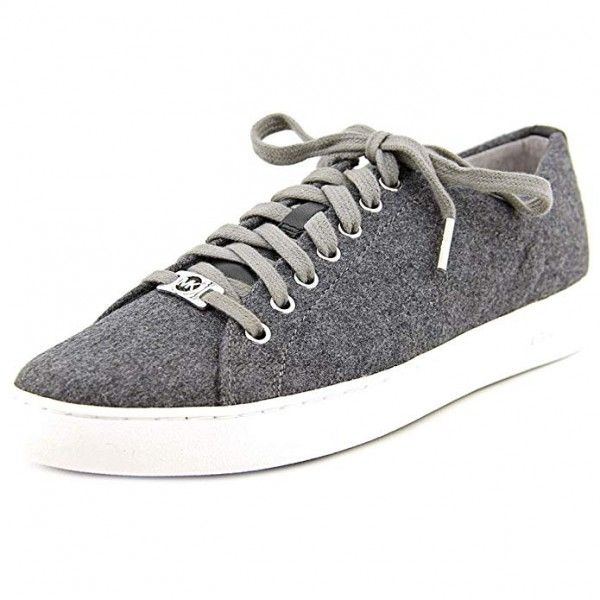 Кеды Michael Kors Keaton Lace UP Fashion Sneakers Flannel Grey