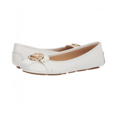 Балетки Michael Kors Women's Fulton Moc Leather White