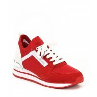 Кроссовки женские Michael Kors Billie Knit Trainers Red