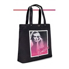Сумка пляжная Victoria's Secret 23496482 Hello Bombshell Black Tote Shopping Beach Bag