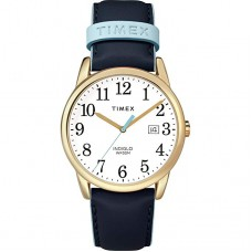 Часы Timex TW2R62600 Easy Reader Blue/Gold