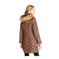 Пальто пуховик Jones New York Down Coat with Faux Fur