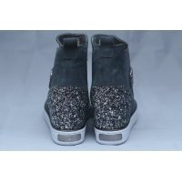 Сникерсы GUESS Sneakers Grey Green With Rhinestones