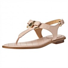 Сандалии женские Michael Kors Alice Saffiano Leather Sandal Soft Pink