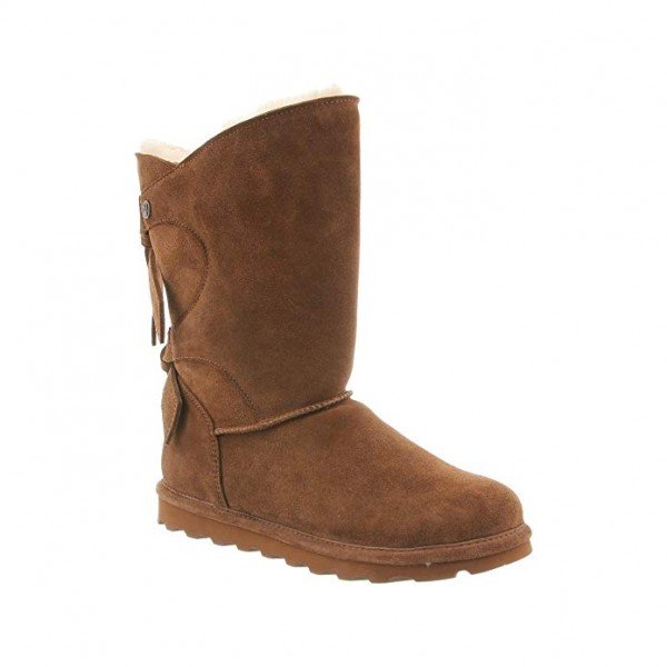 Угги BEARPAW Willow Boots Suede Rubber Wool