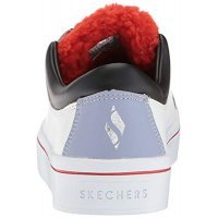 Кеды женские Skechers Hi-Lite-Faux Fur Sneaker White/Black/Purple