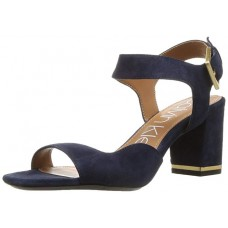 Босоножки замшевые Calvin Klein Chantay Heeled Sandal Dark Navy