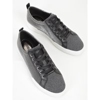 Сникерсы женские Michael Kors Brenden Gunmetal Fashion Sneaker Grey