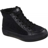 Сникерсы высокие SKECHERS Alba - Cozy Lane Black/Black