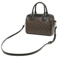 Сумка Coach F32203 Brown Black