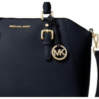 Сумка сэтчел Michael Kors Large Ciara Saffiano leather Satchel Admiral Gold