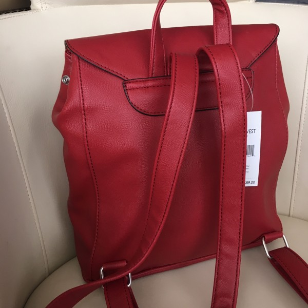 Рюкзак Nine West Darby red 430-20