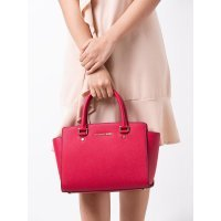 Сумка Michael Kors Selma Medium Cranberry