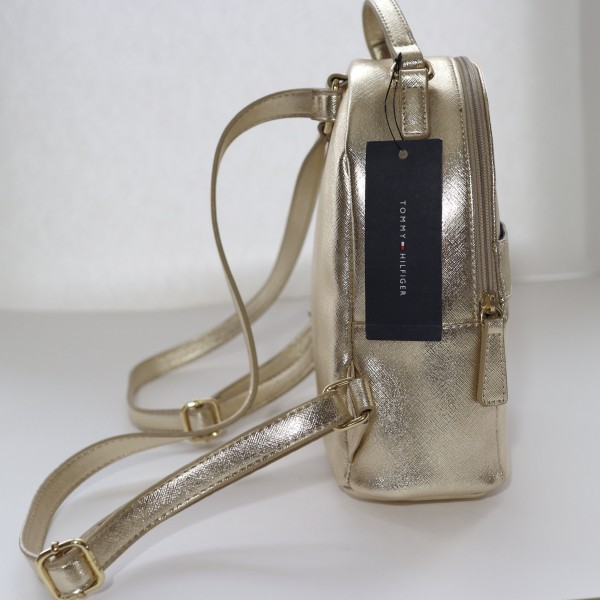 Рюкзак Tommy Hilfiger MINI METALLIC GOLD 524-20