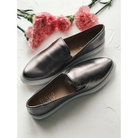 Слипоны Franco Sarto Mony Pewter Leather