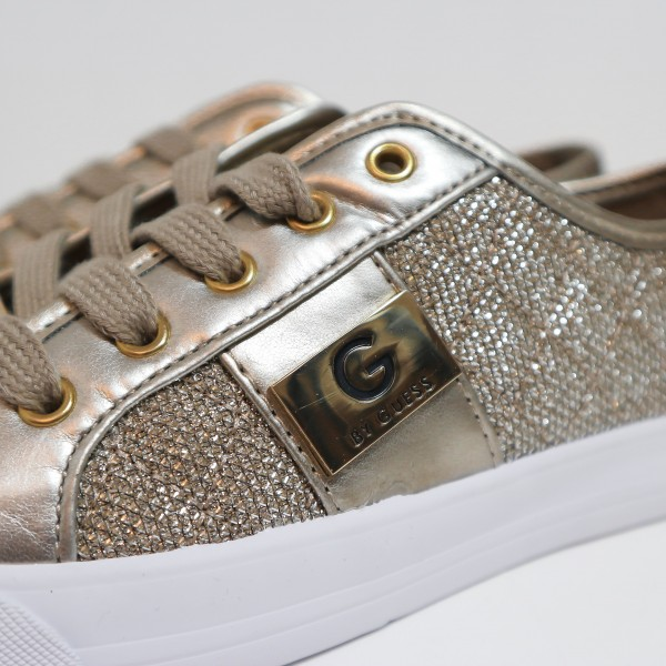 Кеды G by Guess GOLD METALLIC 598-20
