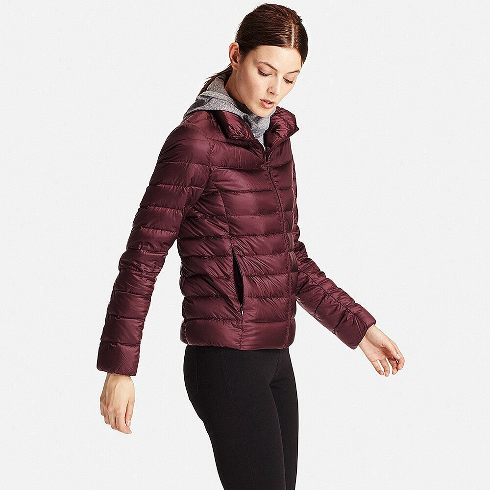 Пуховик Uniqlo Women Ultra Light Down Jacket Wine